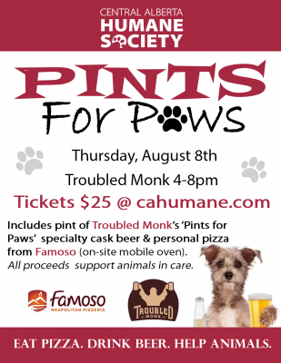 Pints for Paws